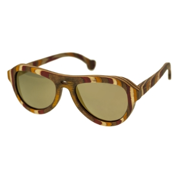 Spectrum Wood Fanning Sunglasses